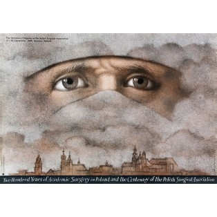 200 Years of Academic Surgery Mieczysław Górowski Polish Poster Art Advertising Tourism Travels Political Sport Judaica Posters