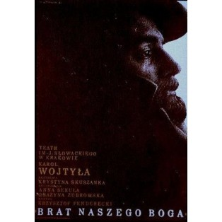 Brother of our God, Karol Wojtyła Mieczysław Górowski Polish Theater Posters