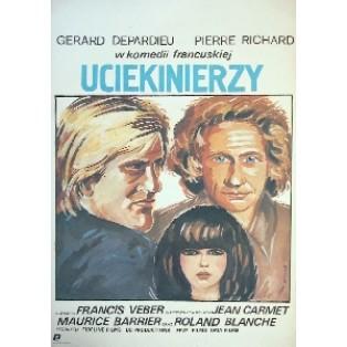 Fugitives Francis Veber Maria Ihnatowicz Polish Film Posters
