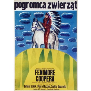 Deerslayer Sergiu Nicolaescu, Pierre Gaspard-Huit Maria Ihnatowicz Polish Film Posters
