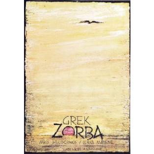 Zorba the Greek, Warsaw Ryszard Kaja Polish Theater Posters