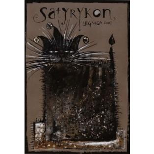 Satyrykon 2007 Ryszard Kaja Polish Exhibition Posters
