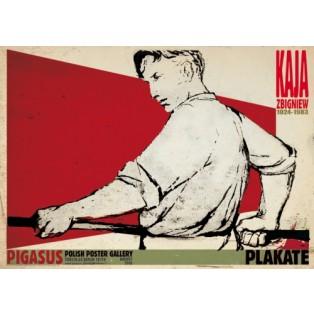 Zbigniew Kaja Posters Ryszard Kaja Polish Exhibition Posters