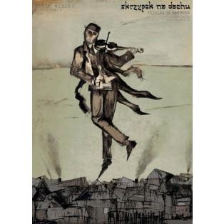 Fiddler on the Roof Ryszard Kaja Polish Opera Posters