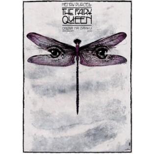 Fairy Queen Henry Purcell Ryszard Kaja Polish Opera Posters