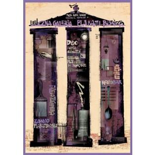 Polish Poster Street Gallery Ryszard Kaja Polish Exhibition Posters