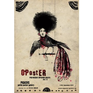 OPostER Polish Opera Poster Ryszard Kaja Polish Opera Posters