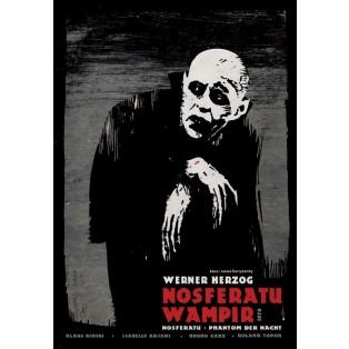 Nosferatu the Vampyre Ryszard Kaja Polish Film Posters