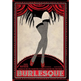 Burlesque Ryszard Kaja Polish Theater Posters