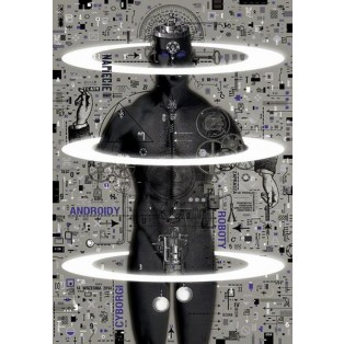 Cyborgs, androids  Ryszard Kaja Polish Theater Posters