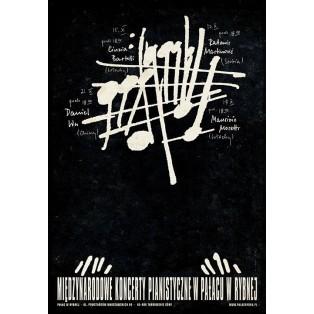 Pianofestival Rybna Ryszard Kaja Polish Music Posters