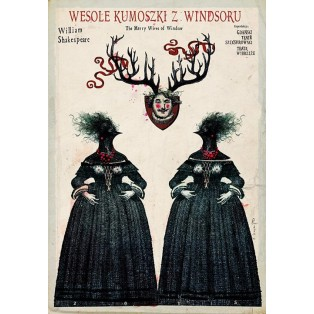 Merry Wives of Windsor Ryszard Kaja Polish Theater Posters