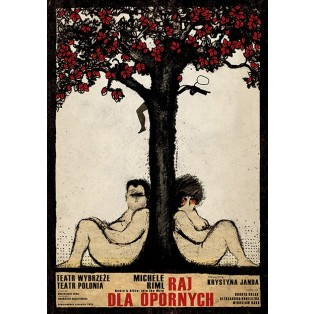 Henry and Alice Into The Wild Ryszard Kaja Polish Theater Posters