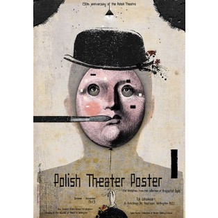 Polish Theater Poster Wellington Ryszard Kaja Polish Exhibition Posters