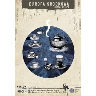 Central Europe Ryszard Kaja Polish Poster Art Advertising Tourism Travels Political Sport Judaica Posters