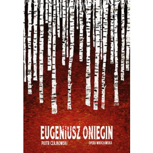 Eugene Onegin Ryszard Kaja Polish Opera Posters