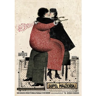Marriage knot Ryszard Kaja Polish Theater Posters