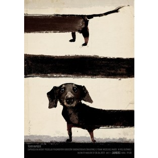 About dachshunds Ryszard Kaja Polish Theater Posters