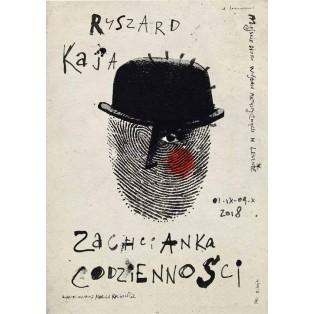 Zachcianka codzienności Ryszard Kaja Polish Exhibition Posters