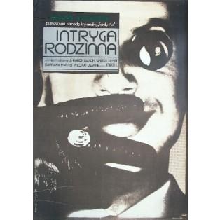 Family plot Alfred Hitchcock Andrzej Klimowski Polish Film Posters