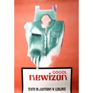 Revizor Nikolai Gogol Leonard Konopelski Polish Theater Posters