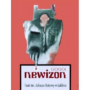Revizor Leonard Konopelski Polish Theater Posters