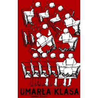 Dead Class Tadeusz Kantor Leonard Konopelski Polish Theater Posters