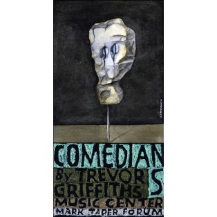 Comedians and Trevor Griffiths Music Center Leonard Konopelski Polish Music Posters