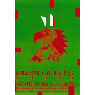 El maestro y el discipulo Sebastian Kubica Polish Exhibition Posters