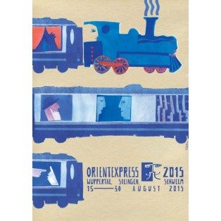 Orientexpress 2015 Sebastian Kubica Polish Poster Art Advertising Tourism Travels Political Sport Judaica Posters