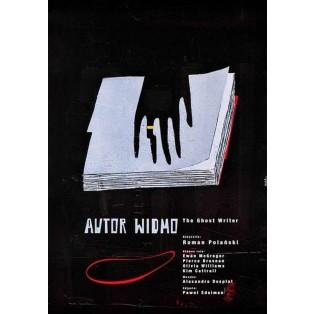Ghost Writer Roman Polański Sebastian Kubica Polish Film Posters
