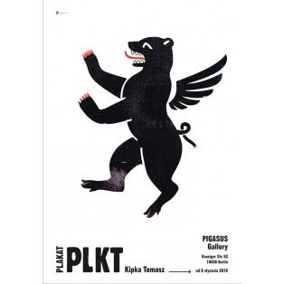 Tomasz Kipka Posters Stefan Lechwar Polish Exhibition Posters
