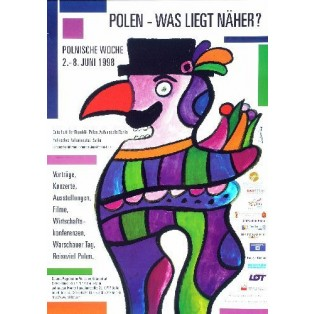 Poland whats nearer? Jan Lenica Polish Poster Art Advertising Tourism Travels Political Sport Judaica Posters