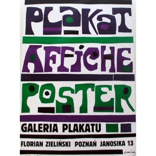 Plakat Affiche Poster Jan Lenica Polish Poster Art Advertising Tourism Travels Political Sport Judaica Posters