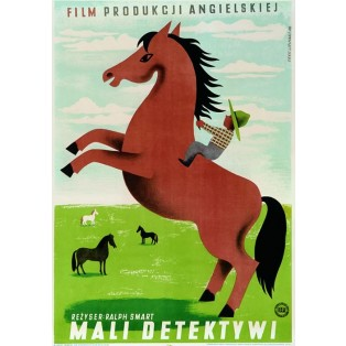 Bush Country Adventure Ralph Smart Eryk Lipiński Polish Film Posters
