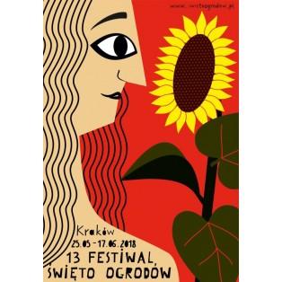 Garden Days 13th Patrycja Longawa Polish Poster Art Advertising Tourism Travels Political Sport Judaica Posters