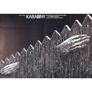 Rifles Waldemar Podgórski Lech Majewski Polish Film Posters
