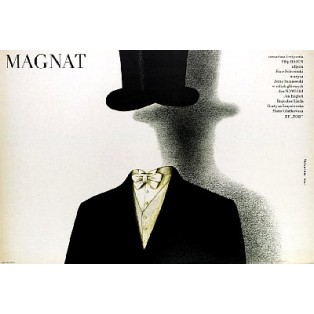Magnate Filip Bajon Lech Majewski Polish Film Posters