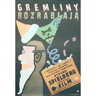 Gremlins Joe Dante Jan Młodożeniec Polish Film Posters