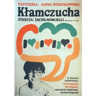 White Lies Anna Sokołowska Jan Młodożeniec Polish Film Posters
