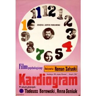 Cardiogram Jan Młodożeniec Polish Film Posters