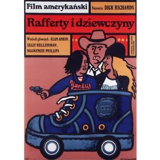 Rafferty and the Gold Dust Twins  Jan Młodożeniec Polish Film Posters
