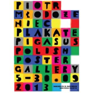 Piotr Mlodozeniec Posters Pigasus Piotr Młodożeniec Polish Exhibition Posters