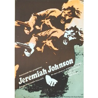 Jeremiah Johnson Sydney Pollack Jacek Neugebauer Polish Film Posters