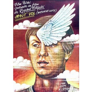 High Flights Ryszard Filipski Rafał Olbiński Polish Film Posters