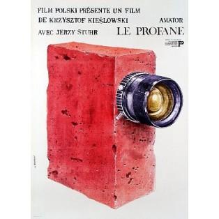 Camera Buff Krzysztof Kieślowski Andrzej Pągowski Polish Film Posters