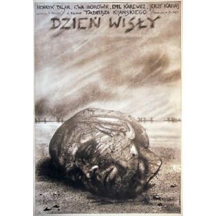 Day of the Vistula Tadeusz Kijanski Andrzej Pągowski Polish Film Posters