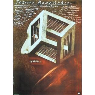 Bodensee Janusz Zaorski Andrzej Pągowski Polish Film Posters