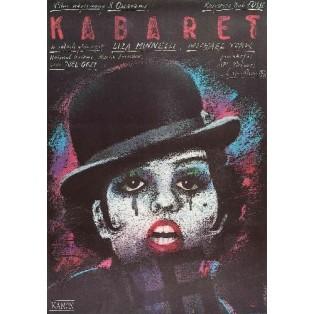 Cabaret Bob Fosse Andrzej Pągowski Polish Film Posters