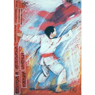 Xia jiang yiying Qimin Li Andrzej Pągowski Polish Film Posters